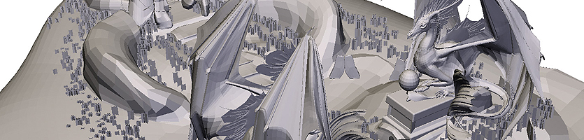 """Szenarioset """"Drachentor"""" – 3D-Modell"""