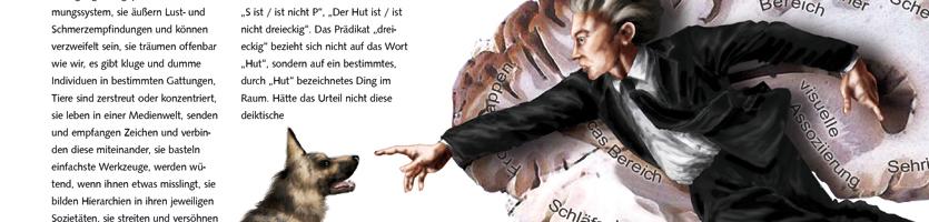 """""""Wie Mensch und Tier denken"""" – Editorial"""