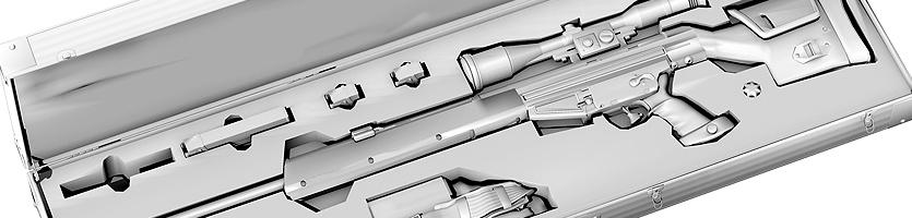 PSG1 – 3D-Modell